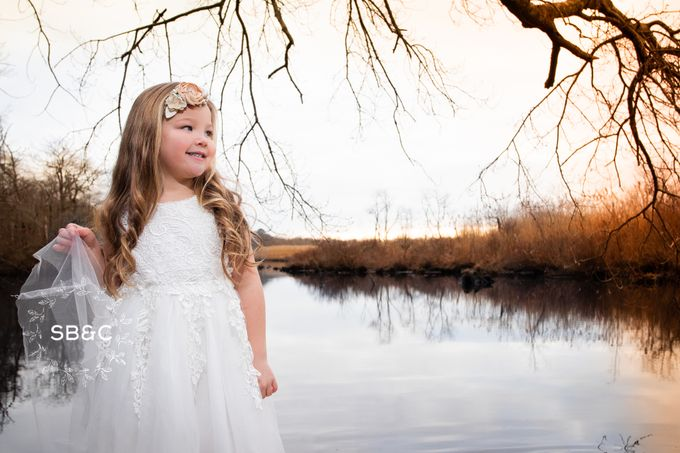 Flower Girl Dress by Sixpence Boutique & Co - 020
