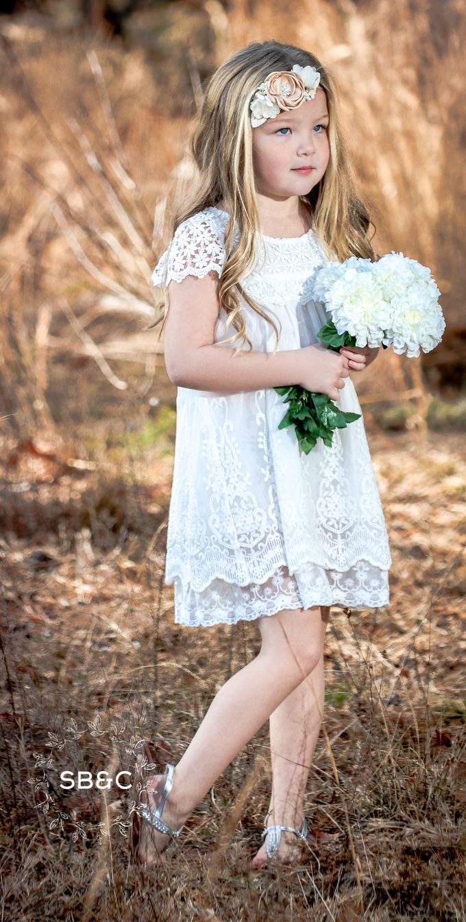 Flower Girl Dress by Sixpence Boutique & Co - 009