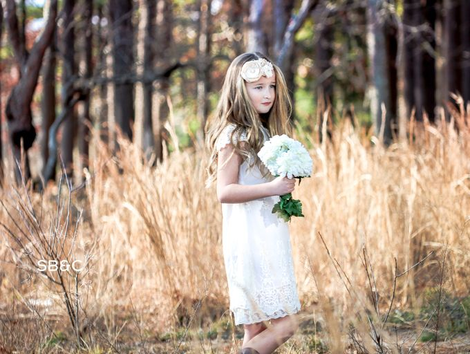 Flower Girl Dress by Sixpence Boutique & Co - 011