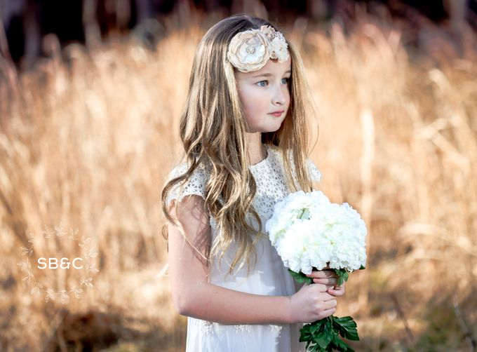 Flower Girl Dress by Sixpence Boutique & Co - 013