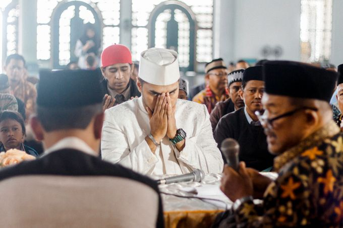 The Wedding of Ikhsan and Laily by LAKSMI - Kebaya Muslimah & Islamic Bride - 020