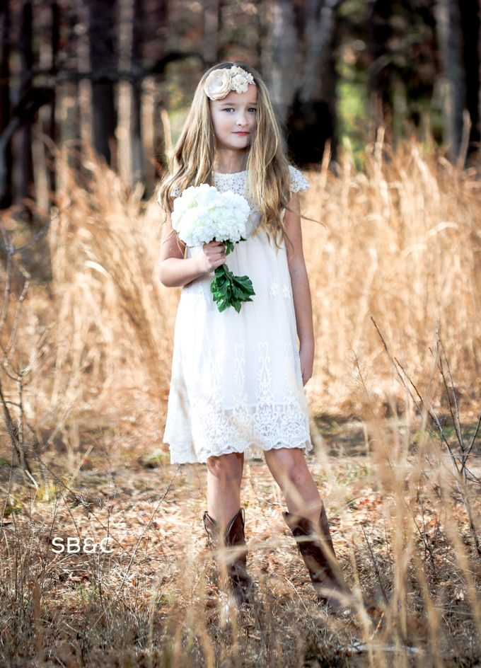 Flower Girl Dress by Sixpence Boutique & Co - 012