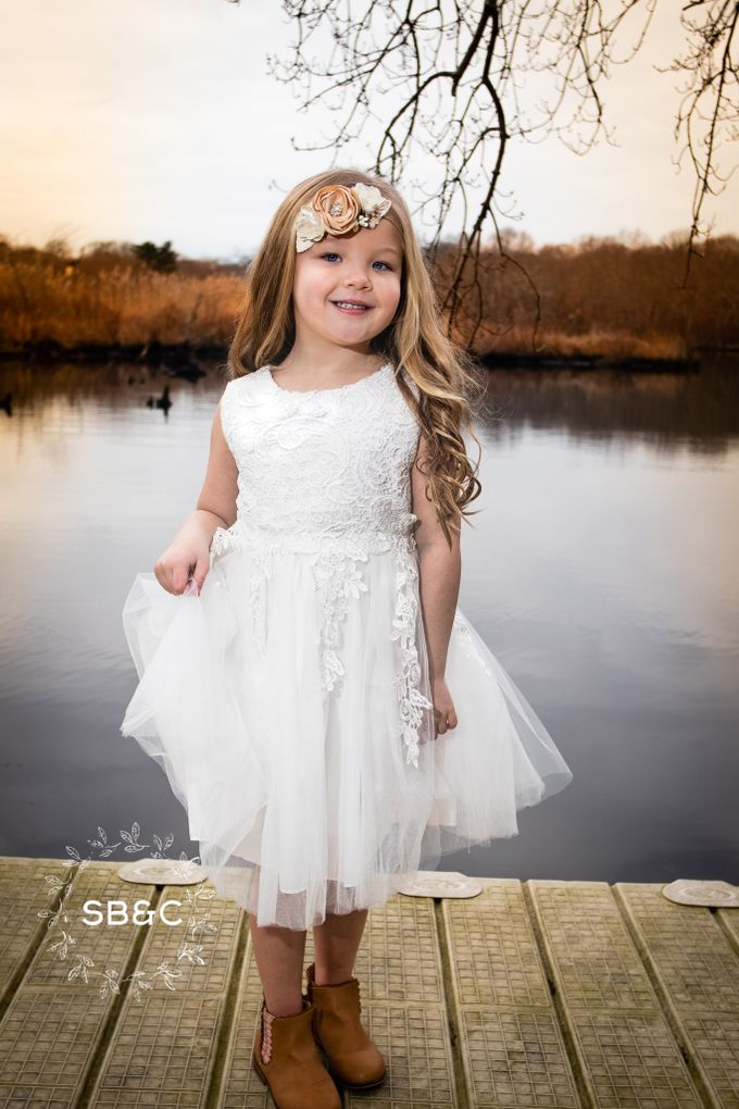 Flower Girl Dress by Sixpence Boutique & Co - 016
