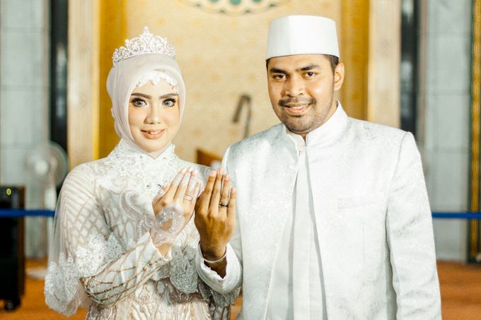 The Wedding of Ikhsan and Laily by LAKSMI - Kebaya Muslimah & Islamic Bride - 022