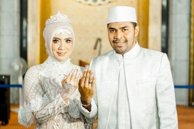 The Wedding of Ikhsan and Laily by LAKSMI - Kebaya Muslimah & Islamic Bride - 022