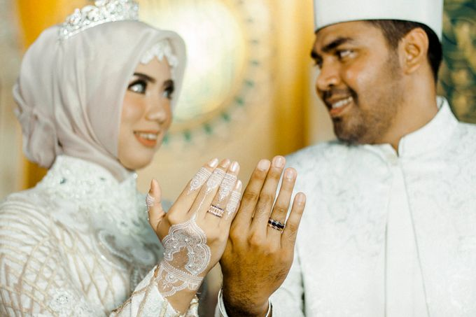 The Wedding of Ikhsan and Laily by LAKSMI - Kebaya Muslimah & Islamic Bride - 023