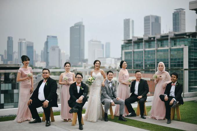 The Wedding Of Yonas And Priska by Chesara Makeup - 001