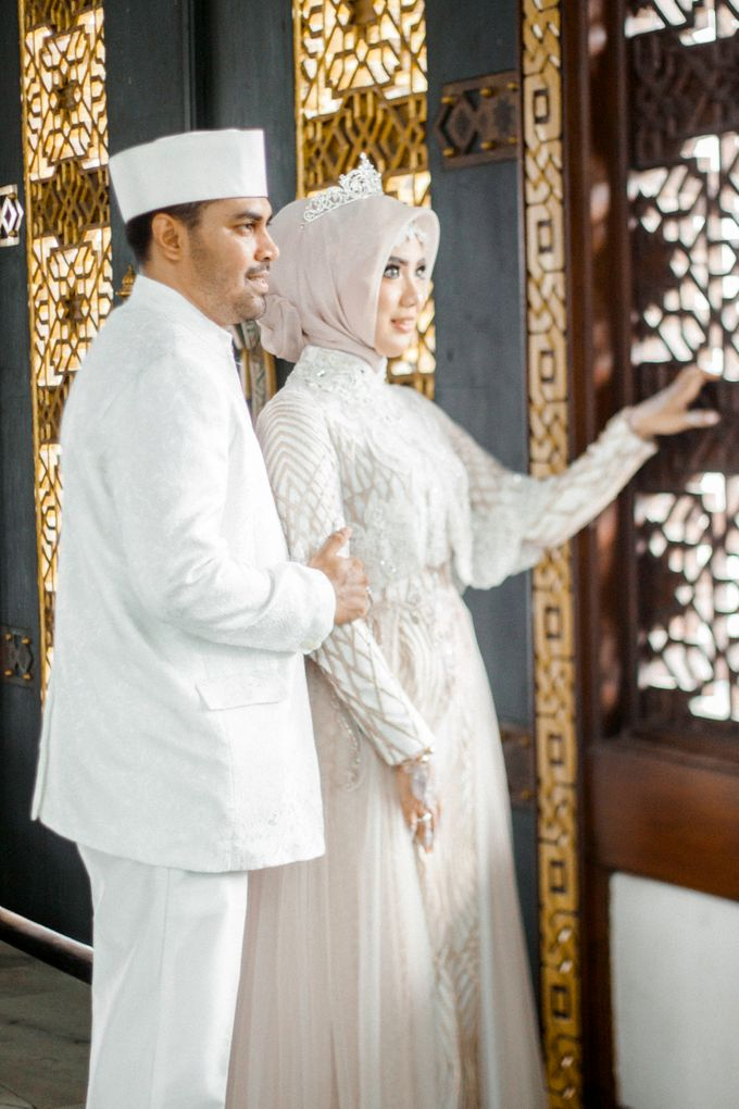 The Wedding of Ikhsan and Laily by LAKSMI - Kebaya Muslimah & Islamic Bride - 024