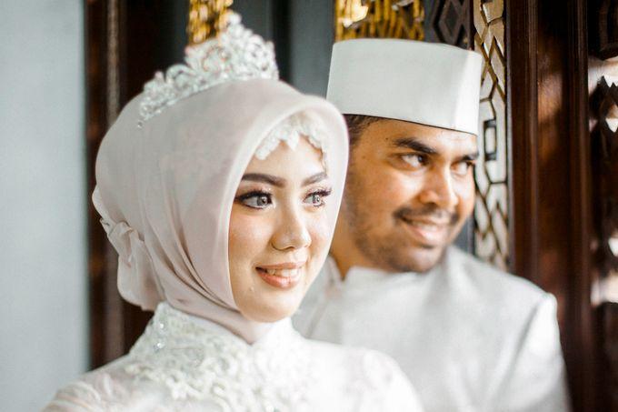 The Wedding of Ikhsan and Laily by LAKSMI - Kebaya Muslimah & Islamic Bride - 025