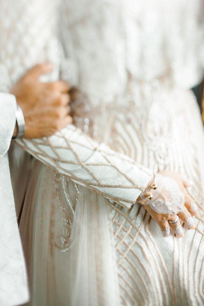 The Wedding of Ikhsan and Laily by LAKSMI - Kebaya Muslimah & Islamic Bride - 026