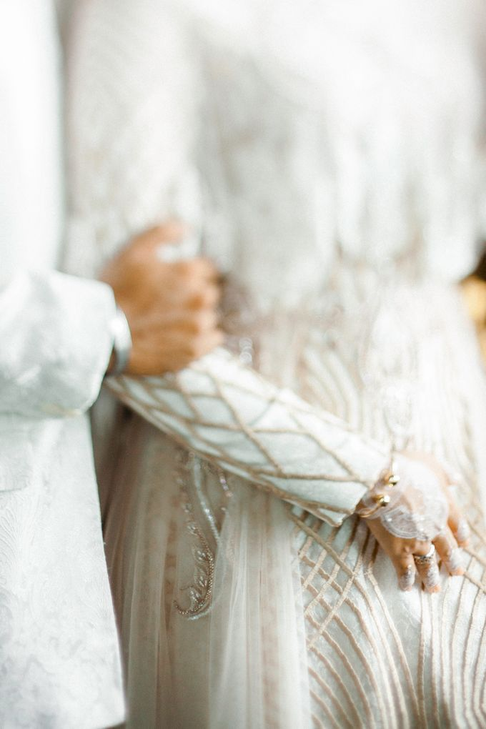 The Wedding of Ikhsan and Laily by LAKSMI - Kebaya Muslimah & Islamic Bride - 027
