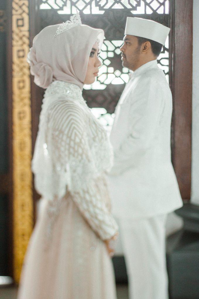 The Wedding of Ikhsan and Laily by LAKSMI - Kebaya Muslimah & Islamic Bride - 028