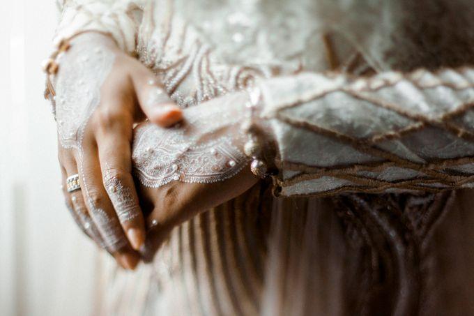 The Wedding of Ikhsan and Laily by LAKSMI - Kebaya Muslimah & Islamic Bride - 029