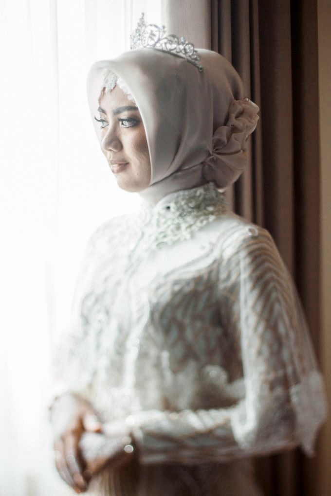 The Wedding of Ikhsan and Laily by LAKSMI - Kebaya Muslimah & Islamic Bride - 030