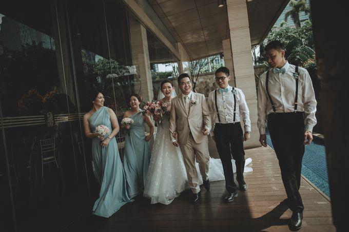 Anton & Cynthia Wedding Day by Mimi kwok makeup artist - 024