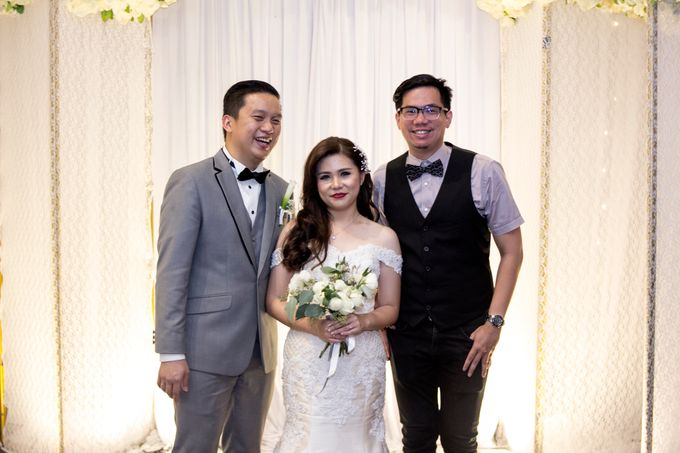 Wedding Reception of Calviana & Marshiela by DJ Perpi - 008