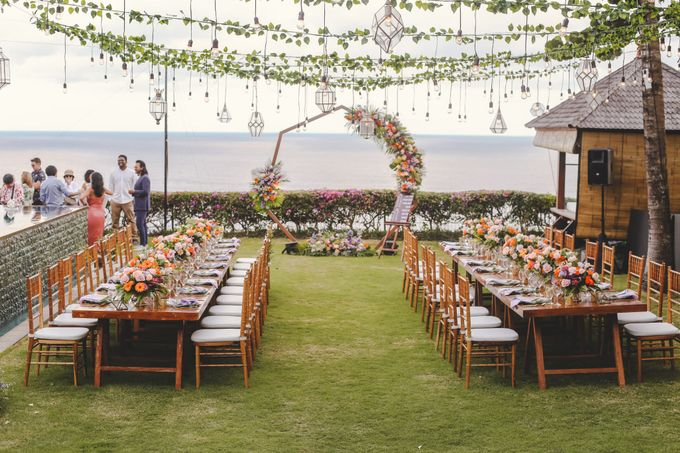 Tropical Lush Wedding in Bali by Silverdust Decoration - 035