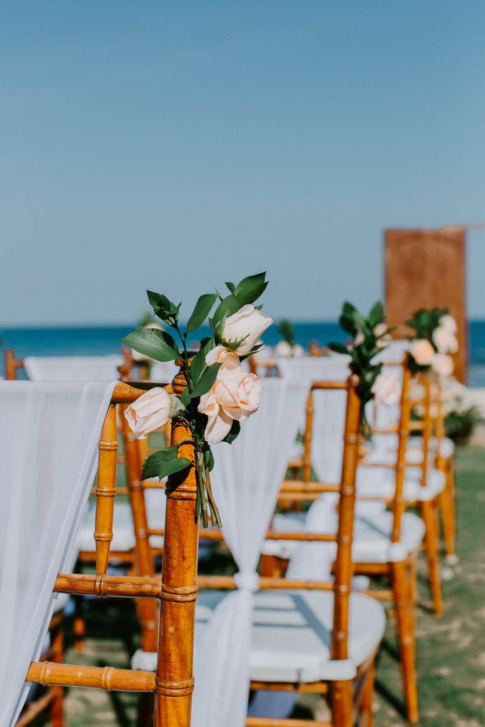 Wiwaha Beach Wedding by Hilton Bali Resort - 007