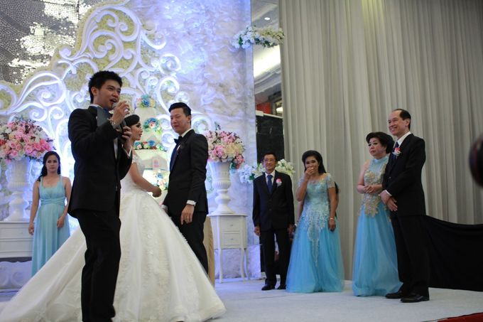 Jazz Wedding Entertainment Merlyn Park Hotel Jakarta - Double V entertainment by FOREVER CAKE - 001