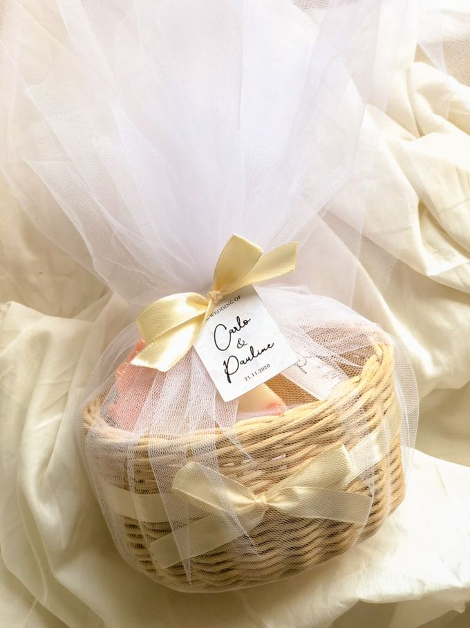 Bundle of Love Wedding Favor for Carlo & Pauline by The Soap Patisserie - 001