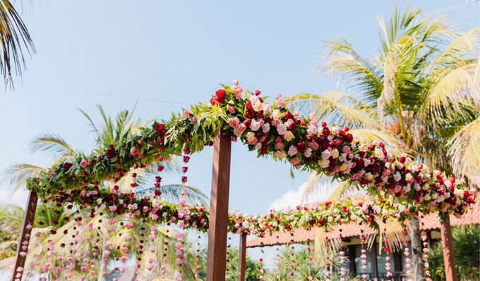 Romantic Indian Wedding at Jeeva Sabbah Villa by Silverdust Decoration - 002