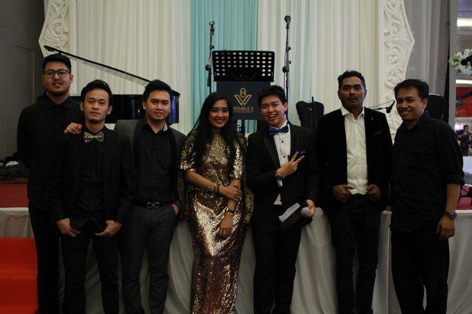Jazz Wedding Entertainment Merlyn Park Hotel Jakarta - Double V entertainment by FOREVER CAKE - 003