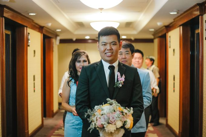 The Wedding of Audy & Caroline by Wong Hang Distinguished Tailor - 016