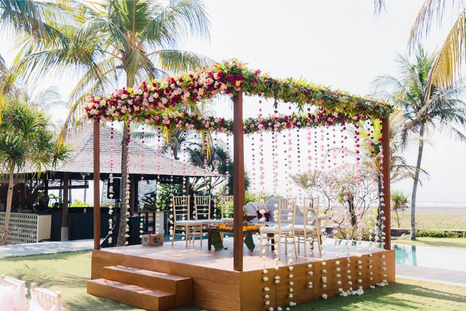 Romantic Indian Wedding at Jeeva Sabbah Villa by Silverdust Decoration - 003