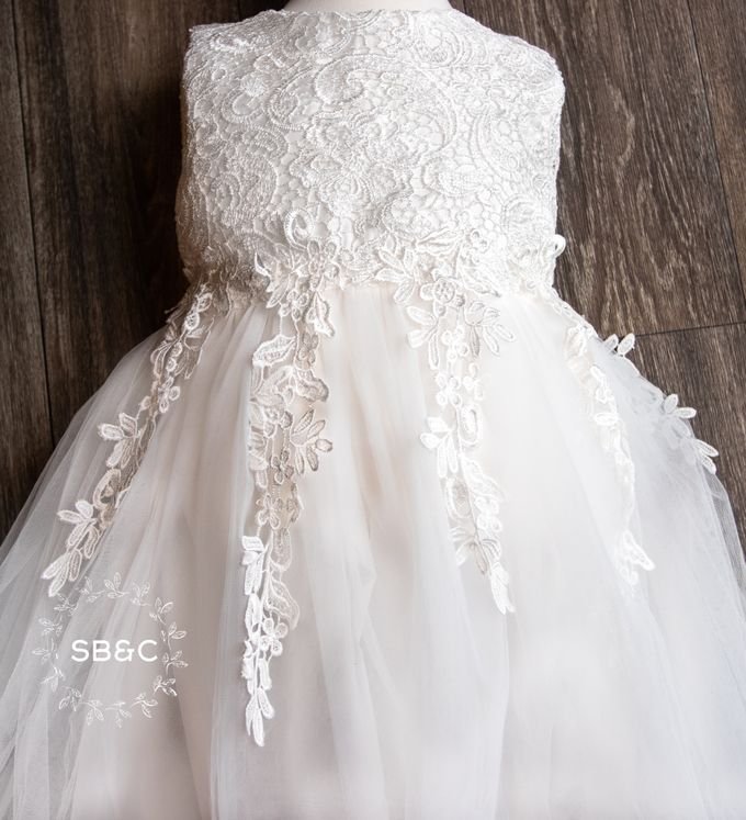 Flower Girl Dress by Sixpence Boutique & Co - 034