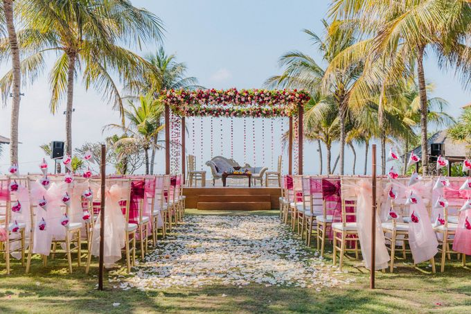 Romantic Indian Wedding at Jeeva Sabbah Villa by Silverdust Decoration - 004