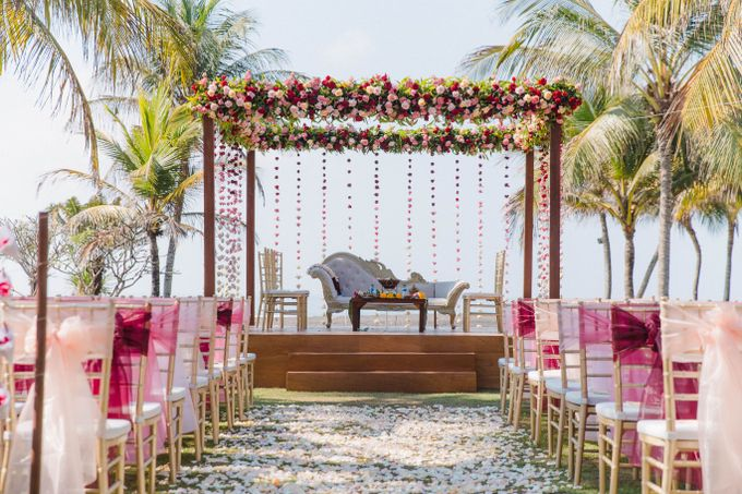 Romantic Indian Wedding at Jeeva Sabbah Villa by Silverdust Decoration - 005