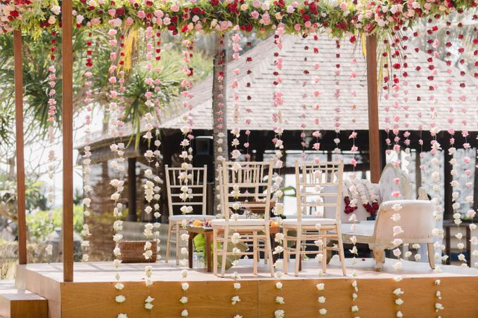 Romantic Indian Wedding at Jeeva Sabbah Villa by Silverdust Decoration - 006