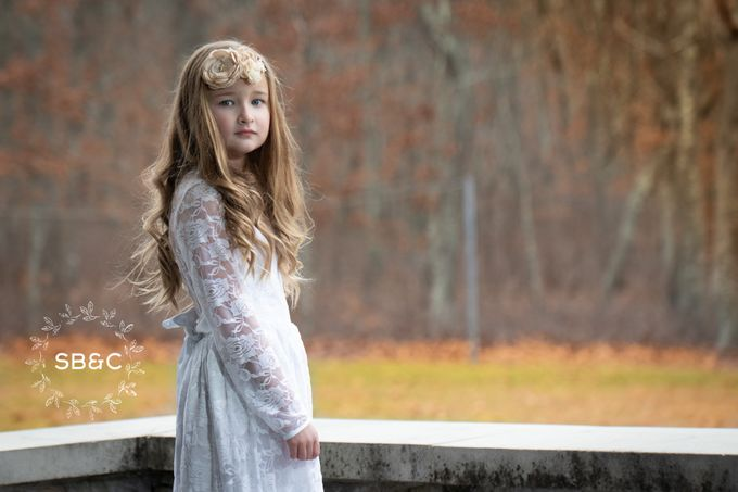 Flower Girl Dress by Sixpence Boutique & Co - 023