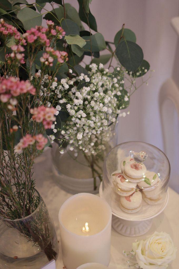 Romantic Dessert Table by Gordon Blue Cake - 009