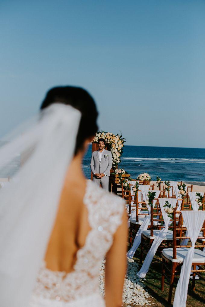 Wiwaha Beach Wedding by Hilton Bali Resort - 004
