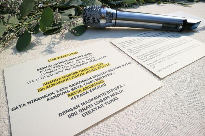 Raisa Hamish Wedding by APH Soundlab - 001