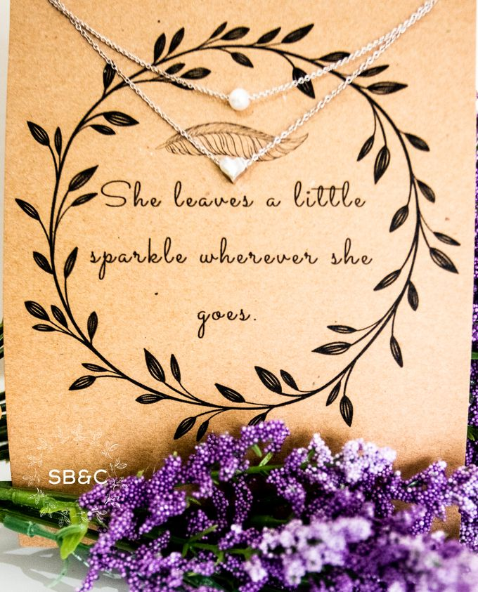 Flower Girl Necklace by Sixpence Boutique & Co - 002