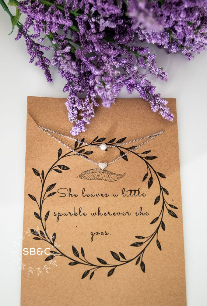 Flower Girl Necklace by Sixpence Boutique & Co - 003