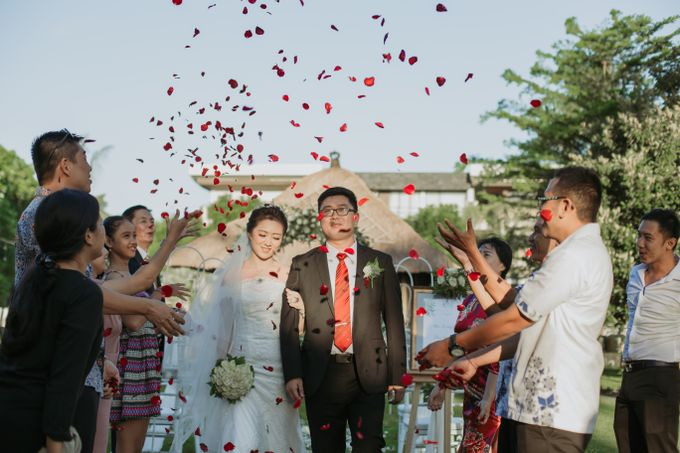 Wei Long Yun & Zhu Yan Lin Wedding by Le Grande Bali Uluwatu - 003