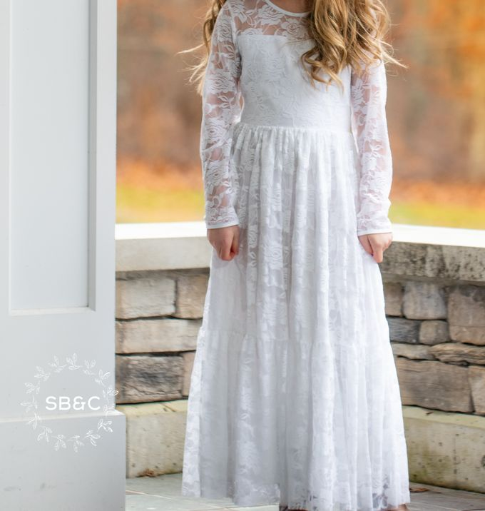 Flower Girl Dress by Sixpence Boutique & Co - 021
