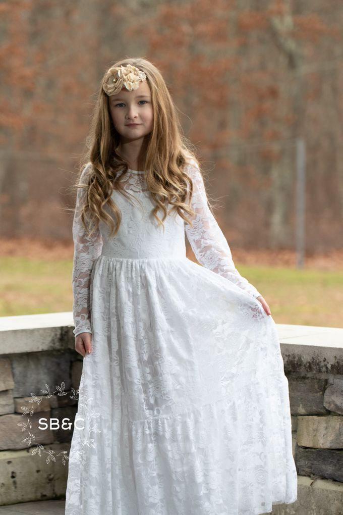 Flower Girl Dress by Sixpence Boutique & Co - 024