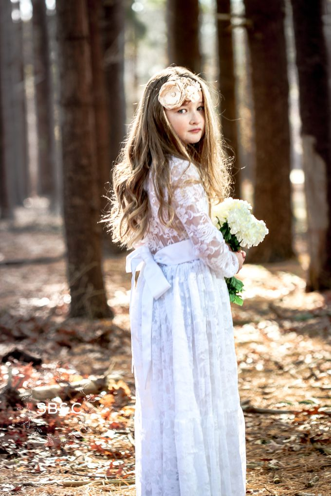 Flower Girl Dress by Sixpence Boutique & Co - 004