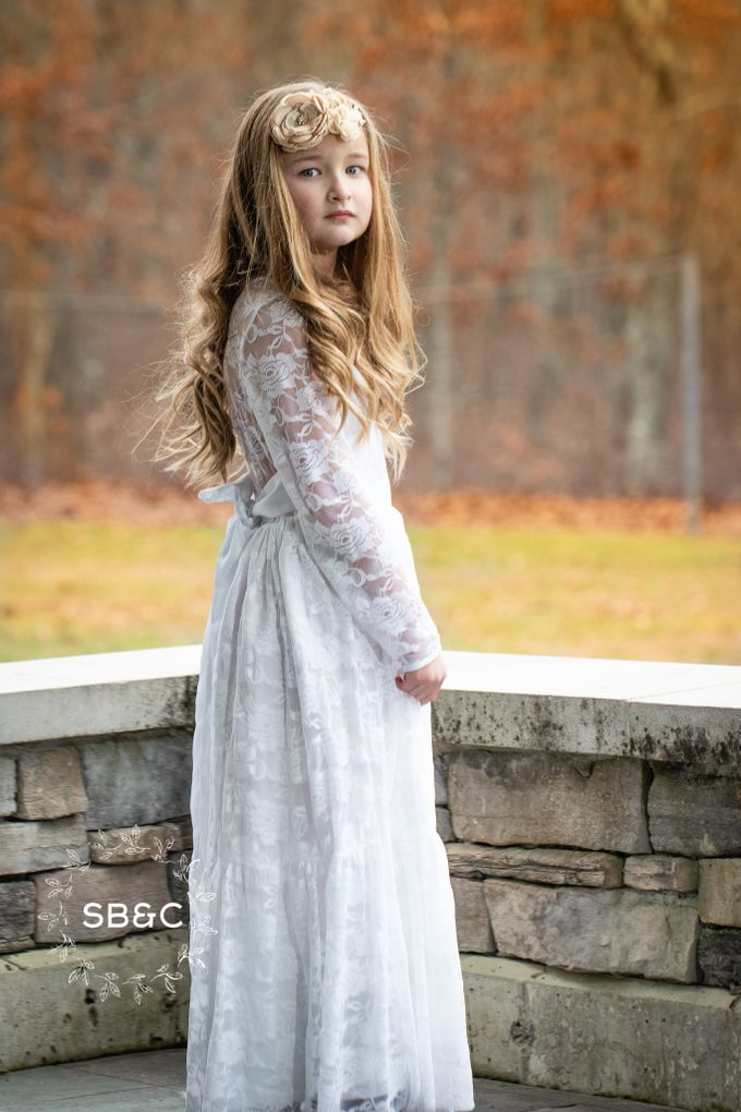 Flower Girl Dress by Sixpence Boutique & Co - 022