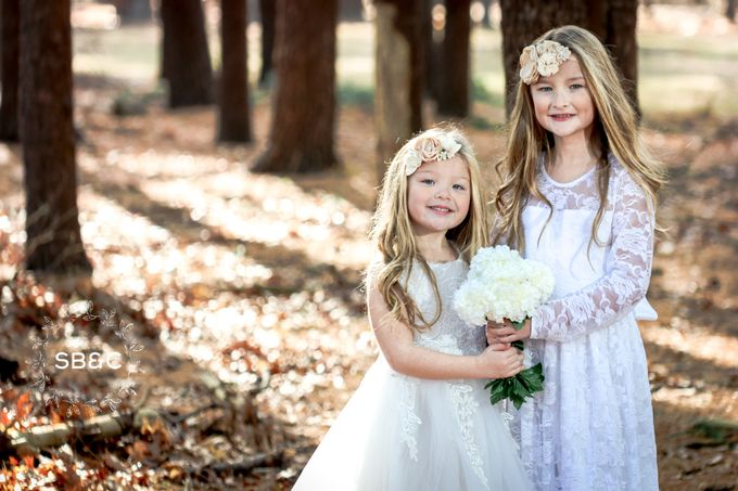 Flower Girl Dress by Sixpence Boutique & Co - 006