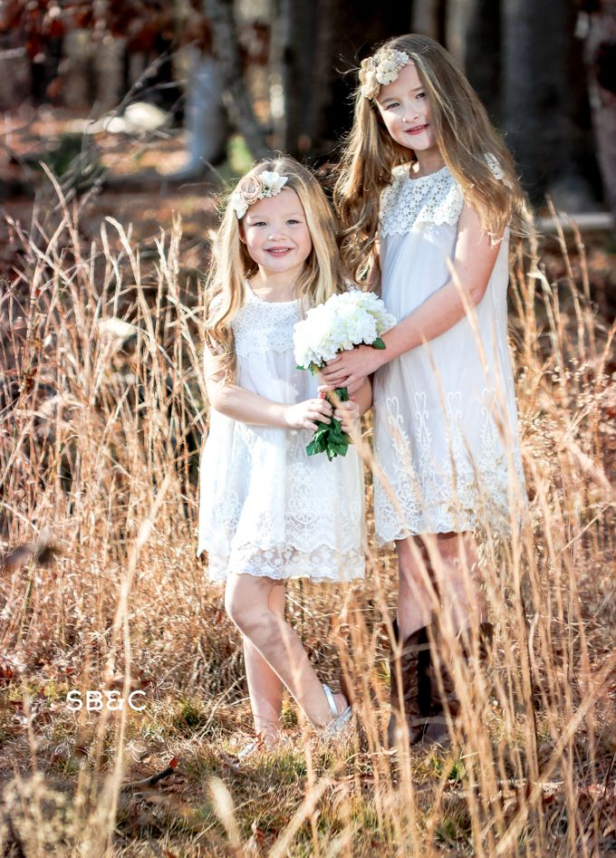 The Claire In Ivory by Sixpence Boutique & Co - 003