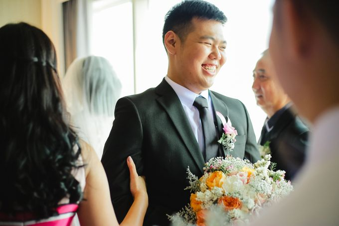 The Wedding of Audy & Caroline by Wong Hang Distinguished Tailor - 022