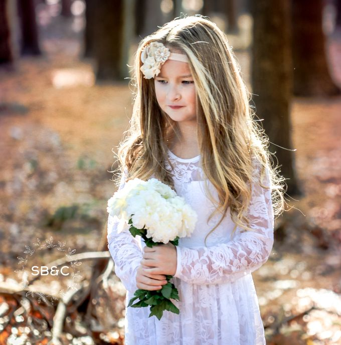 Flower Girl Dress by Sixpence Boutique & Co - 002