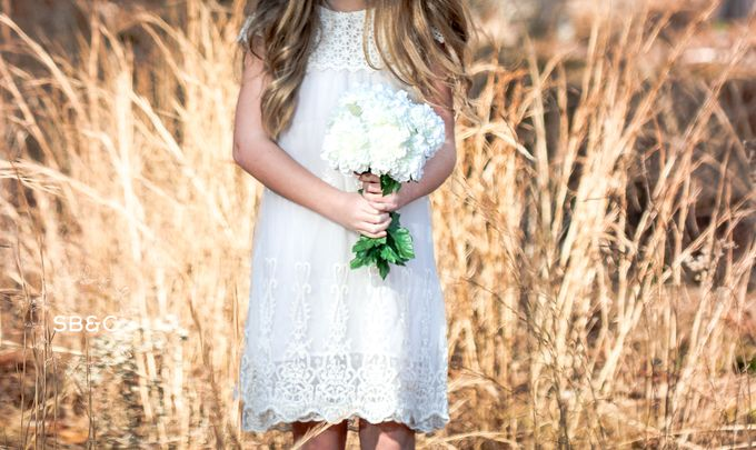 Flower Girl Dress by Sixpence Boutique & Co - 007