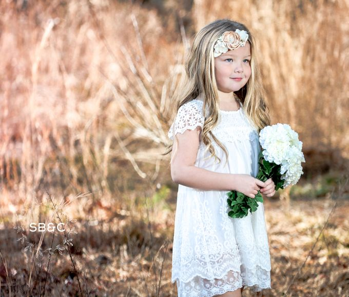 Flower Girl Dress by Sixpence Boutique & Co - 010