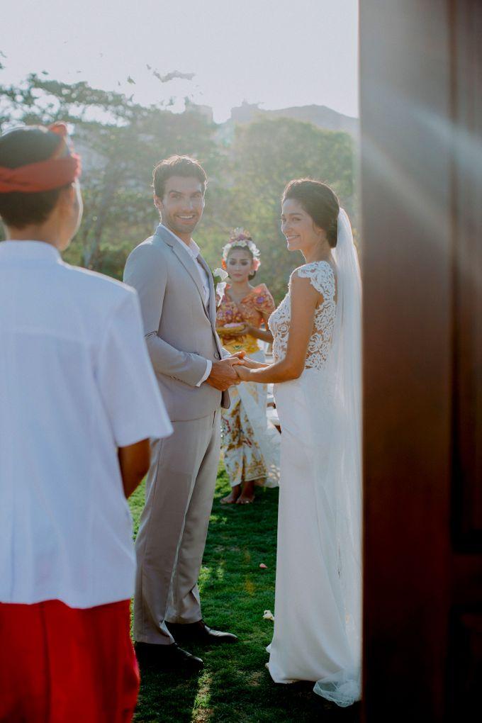 Wiwaha Beach Wedding by Hilton Bali Resort - 005